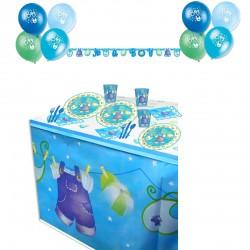 Pack especial ropa de bebe color azul