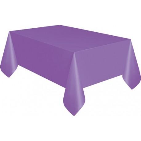 Mantel de color violeta