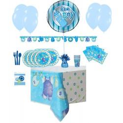 Pack Básico de Ropa de Bebe Azul