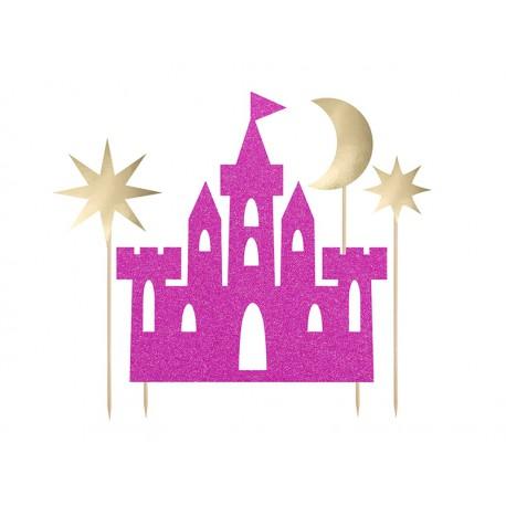 Toppers de castillo de princesas