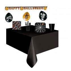 Pack halloween negro telaraña