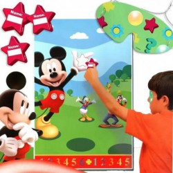 Juego de fiesta de pared de Mickey Mouse