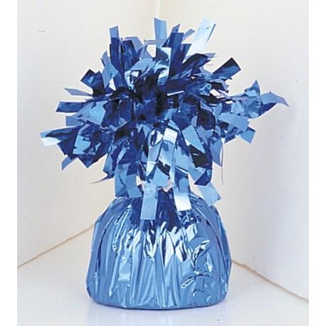 Pesa para globos de helio color azul