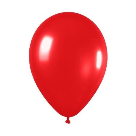 Globos de color rojo
