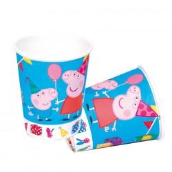 Vasos de Pepa Pig