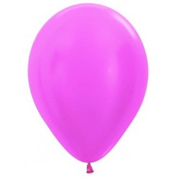 Globos de color fucsia x 8