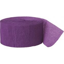 Cinta crepé violeta