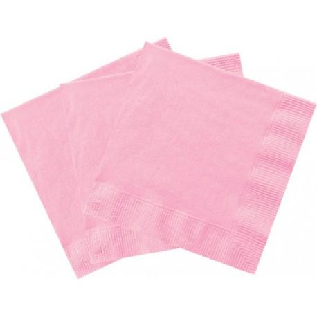 Servilletas de color rosa claro
