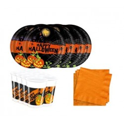 Pack mini de Calabazas Happy Halloween