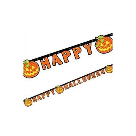 Guirnalda Calabazas Happy Halloween
