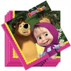 Platos de Masha y el oso
