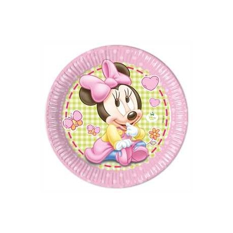 Platos de Minnie bebe