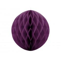 Bola de nido de abeja de color violeta fuerte (40 cm)