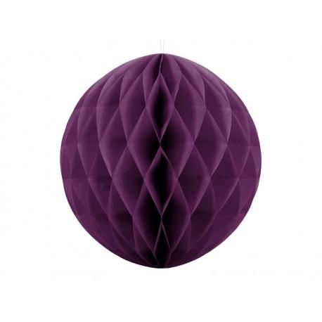 Bola de nido de abeja de color violeta fuerte