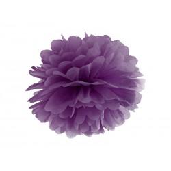 Pompón de color violeta fuerte (35 cm)
