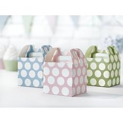 Cajas decorativos para dulces de tonos pastel